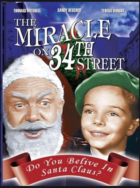 the miracke on 34 street